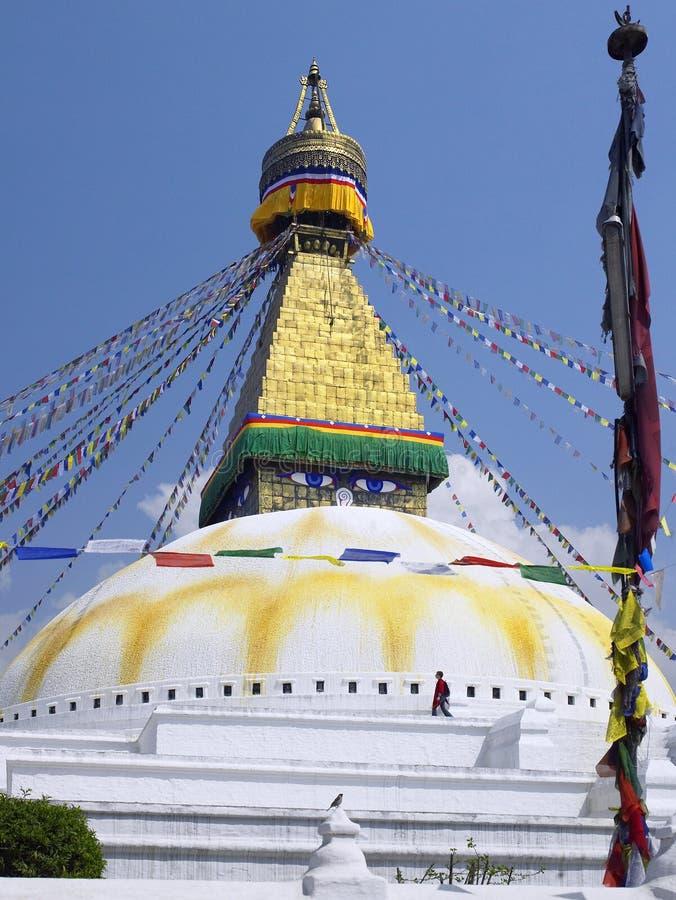Boudhanath Stupa - Kathmandu - Nepal Editorial Stock Image