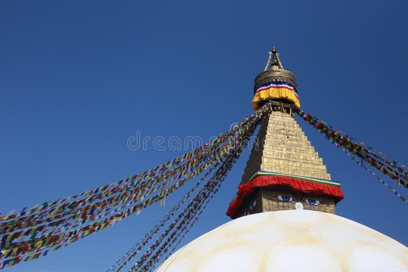 Boudhannath. The boudhanath in Kathmandu ,Nepal stock images