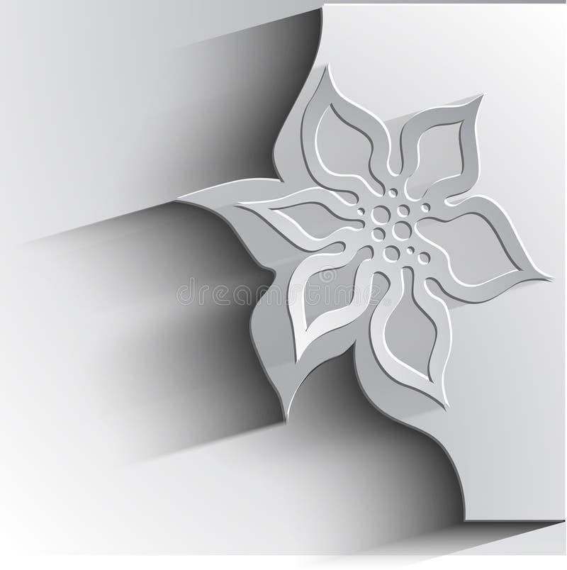 The bouganvilla mit allen seinen Dornen ist aber eine schöne Blume lizenzfreie abbildung