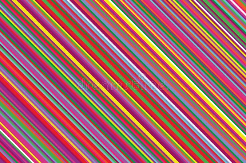 Bougie de Noël, modèle de lucette Fond diagonal rayé avec les lignes inclinées Illustration rayée de vecteur de contexte illustration de vecteur
