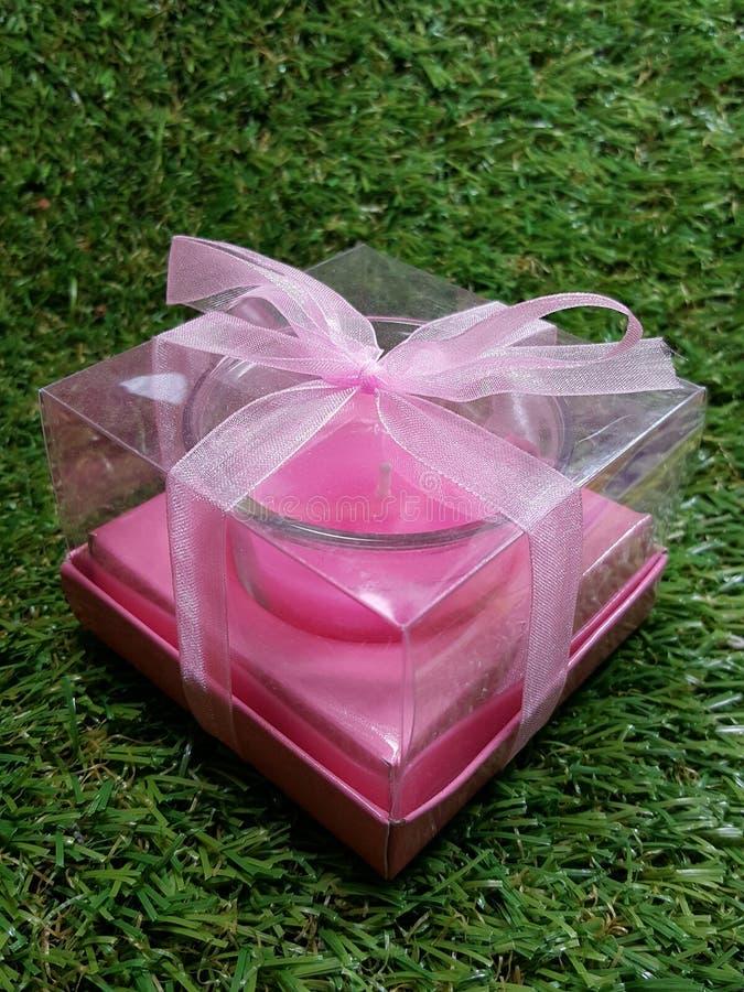 Bougie de valentines image stock