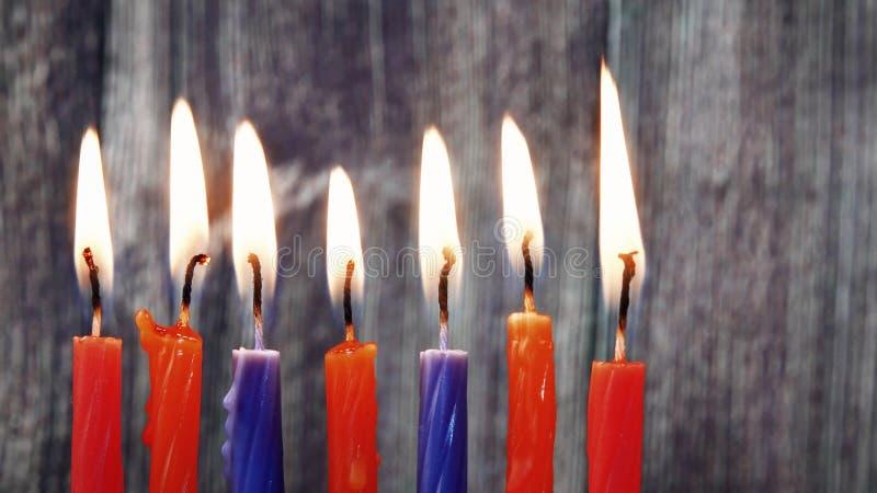 Bougies de Hanoucca, vacances juives