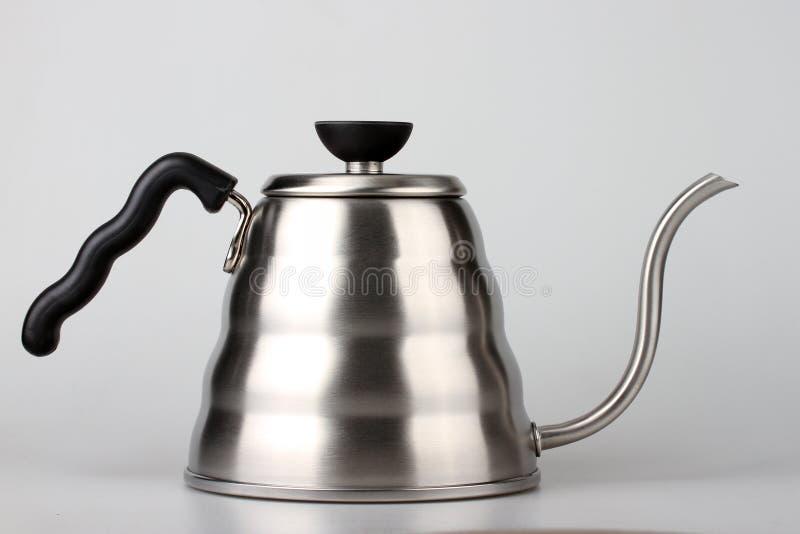 Bouilloire d'égouttement de café photo stock