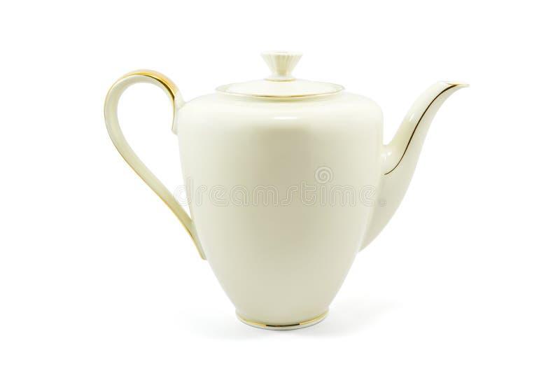 Bouilloire de porcelaine photos libres de droits
