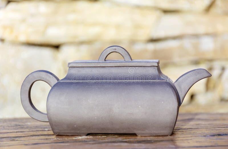 Bouilloire de thé de vintage photo libre de droits