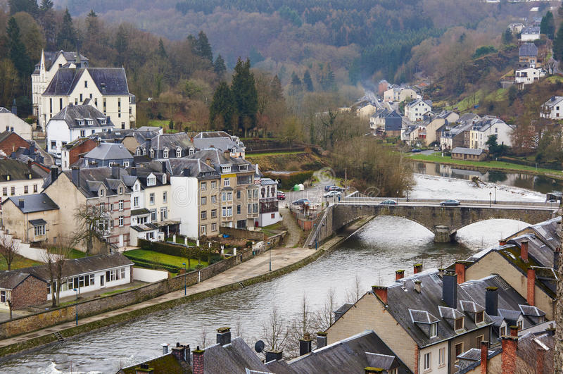 Bouillon Belgium zdjęcia stock