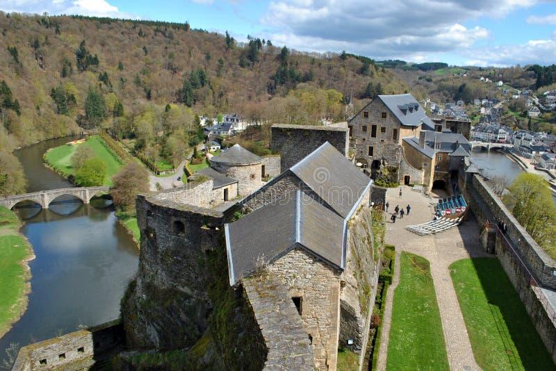 Bouillon castle royalty free stock photos