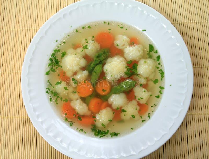 Bouillon soup royalty free stock photos