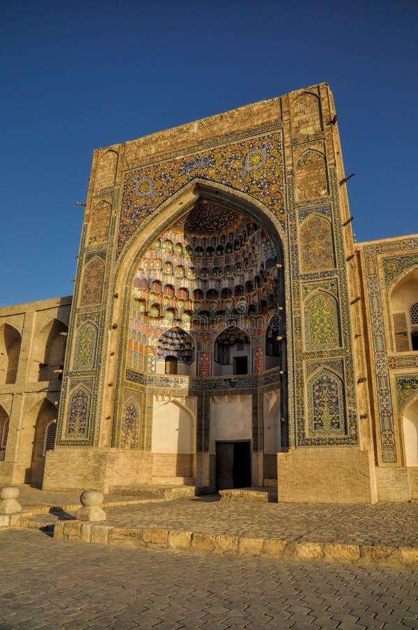 Boukhara, Oezbekistan stock afbeelding