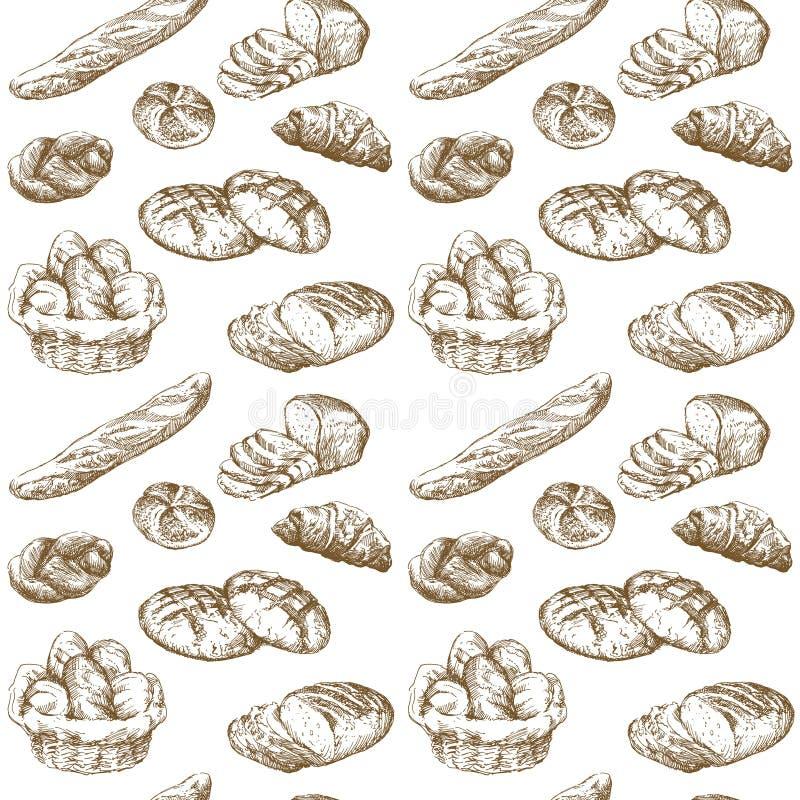 Boulangerie illustration de vecteur
