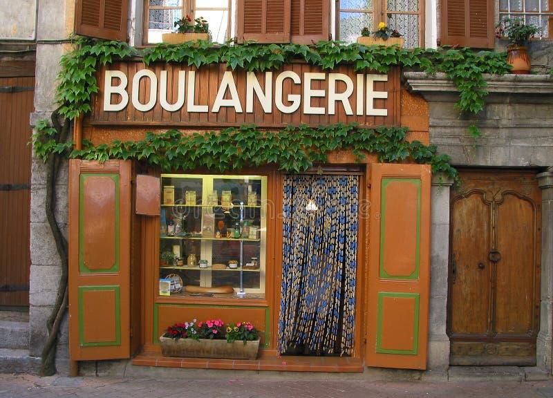 Boulangerie - Baker stock afbeelding