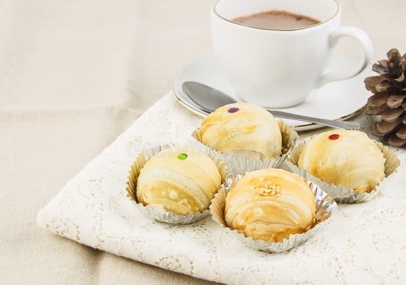Boulangerie de Brown pour la pause café images stock