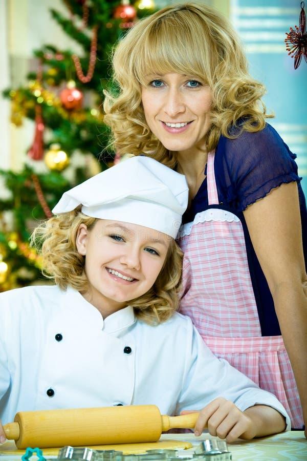 Boulangerie de Noël photos libres de droits