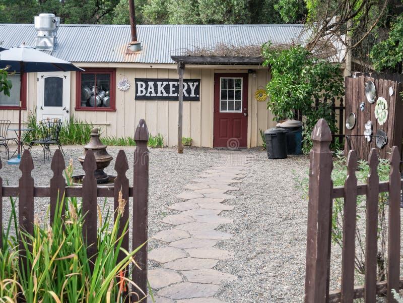 Boulangerie provinciale de invitation photo stock
