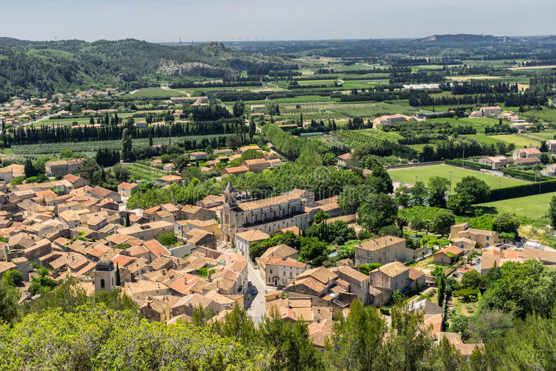 Boulbon dans le Bouches du le Rhône photographie stock