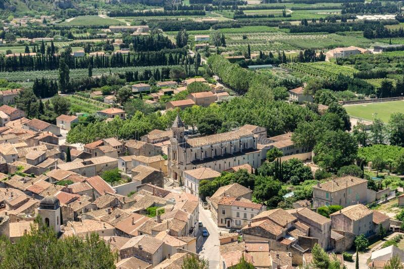 Boulbon dans le Bouches du le Rhône photo stock