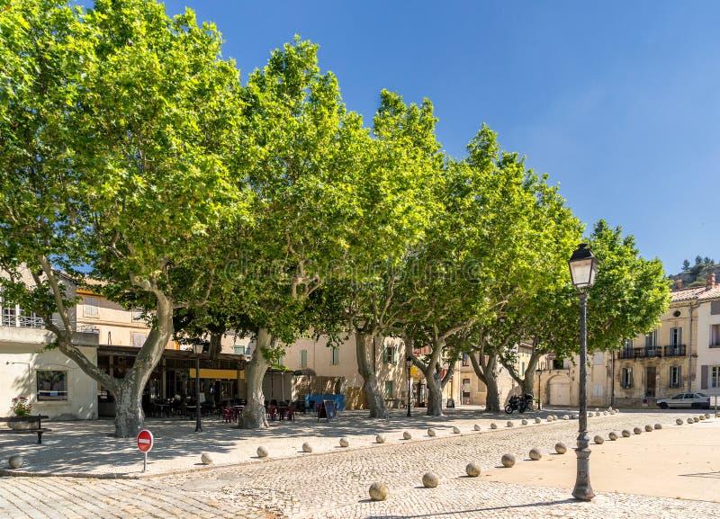 Boulbon dans le Bouches du le Rhône image libre de droits