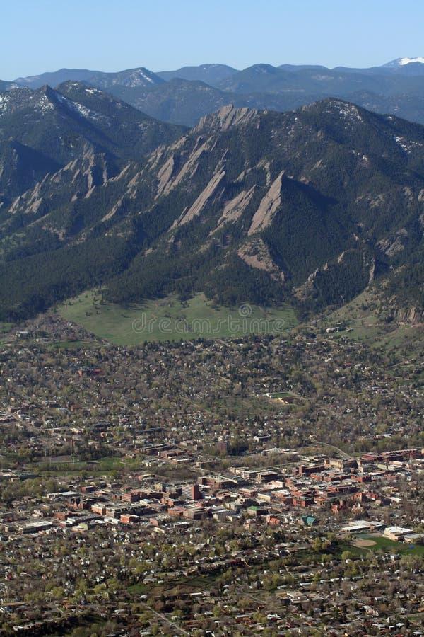 Download Boulder, Colorado stock image. Image of flatirons, boulder - 6980567