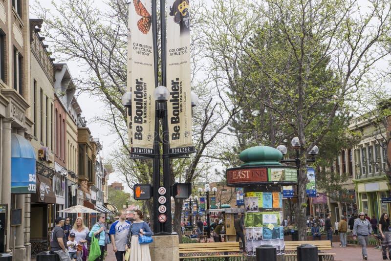 Boulder Colorado fotos de archivo libres de regalías