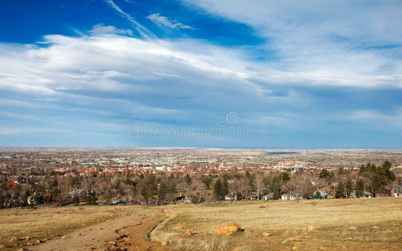 Boulder, colorado royalty free stock photography