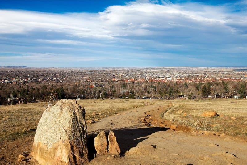 Boulder, colorado royalty free stock image