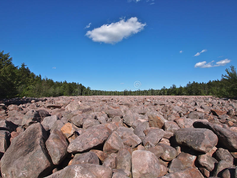 Download Boulder Field stock photo. Image of rock, tourist, grey - 32372504