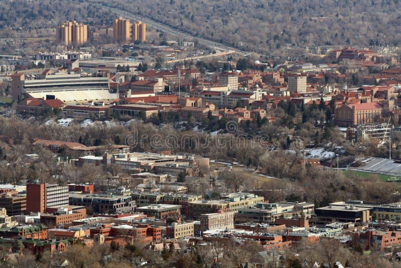 Boulder, le Colorado photo stock