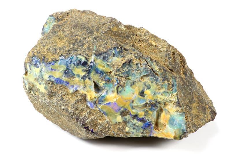 Boulder opal royalty free stock photos
