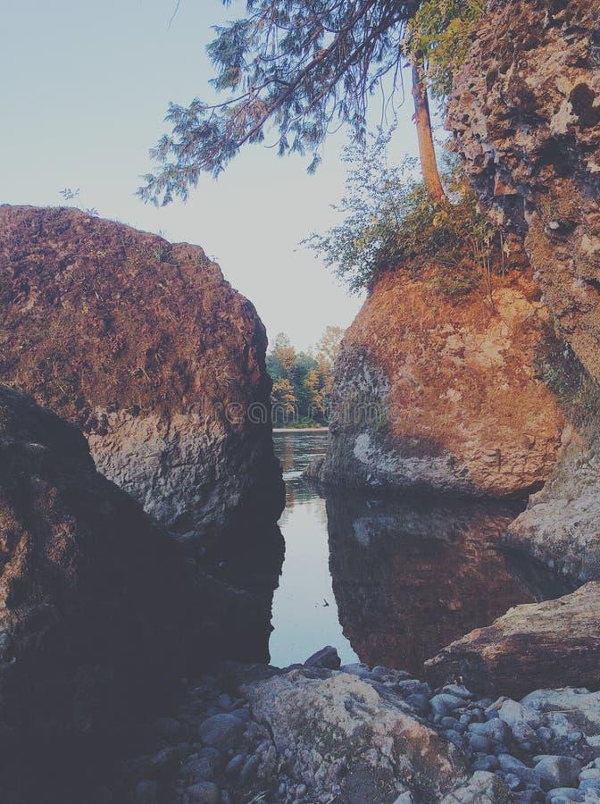 Boulder-Reflexionen stockfotografie