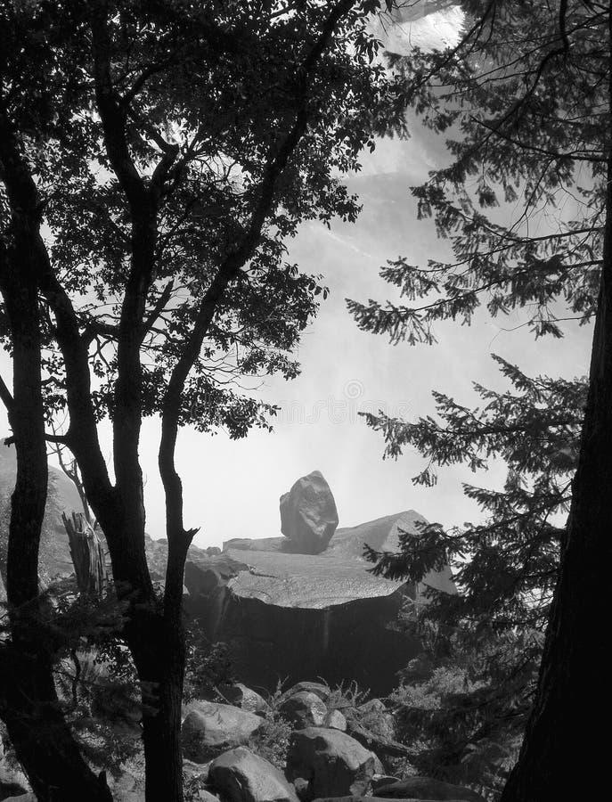 Boulder solo fotografia stock libera da diritti