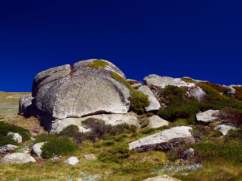 Boulders Free Stock Photography