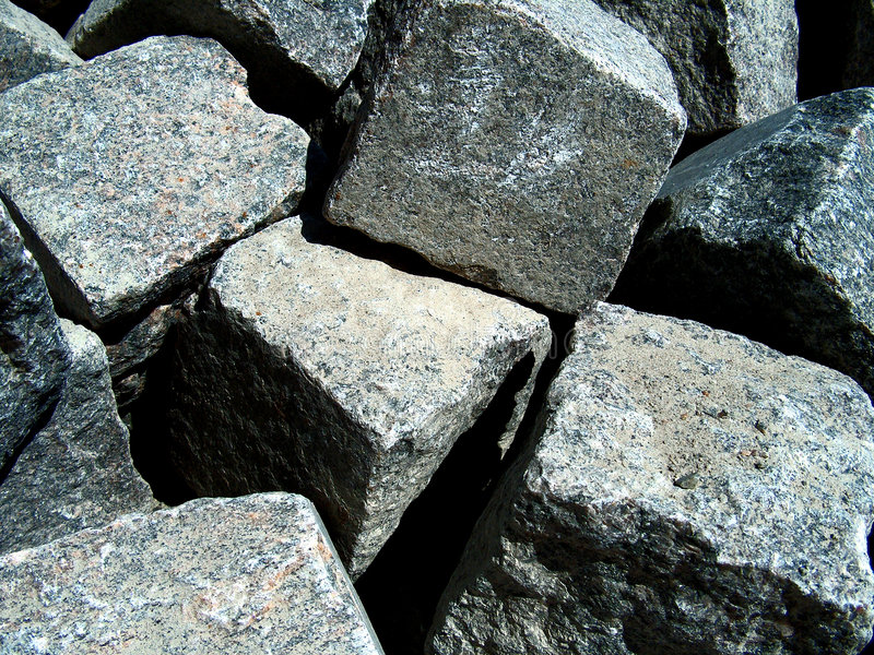 Boulders royalty free stock photo