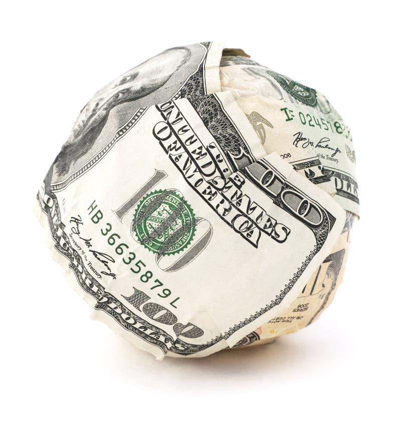 Boule d'argent photographie stock