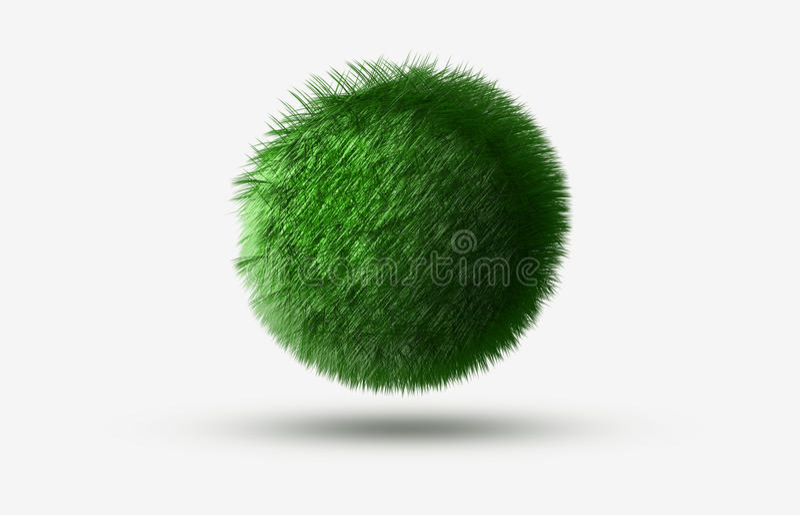 boule d'herbe illustration libre de droits