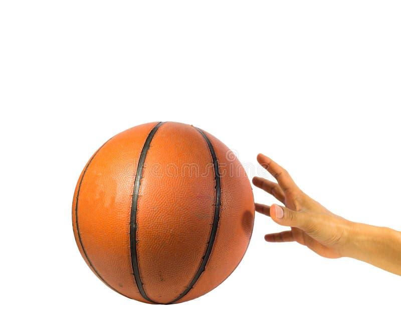 Boule de basket-ball images libres de droits