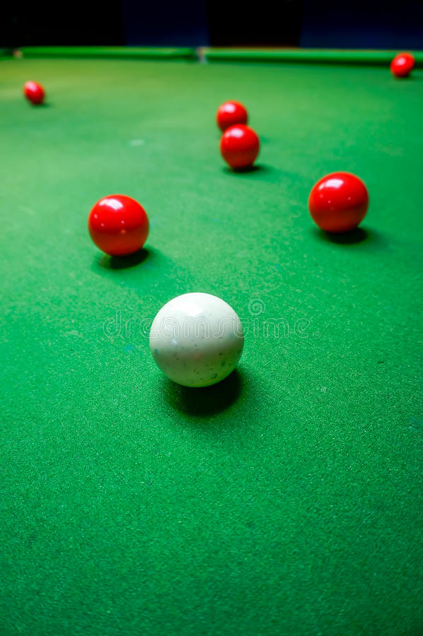 Boule de billard photo stock