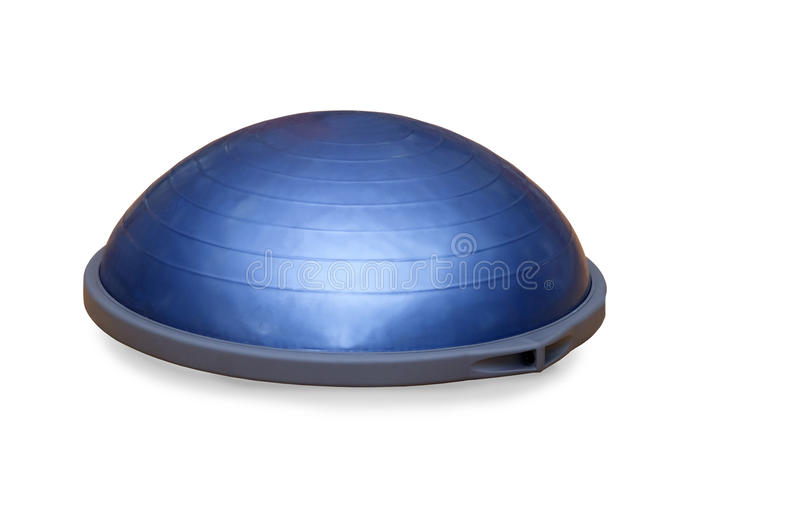 Boule de Bosu (boule moderne de gymnase) image stock