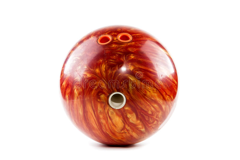 Boule de bowling images libres de droits