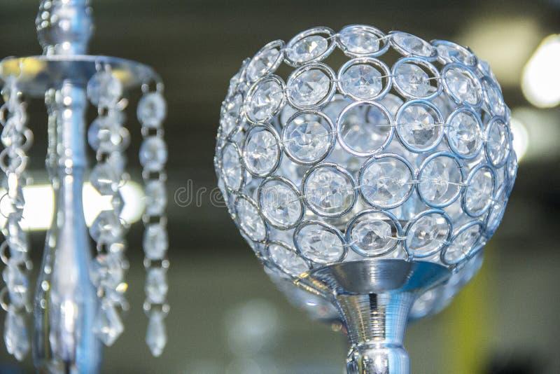Boule de cristal pour la décoration photos libres de droits