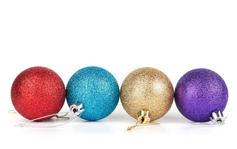 Boule de décoration de Noël photographie stock libre de droits