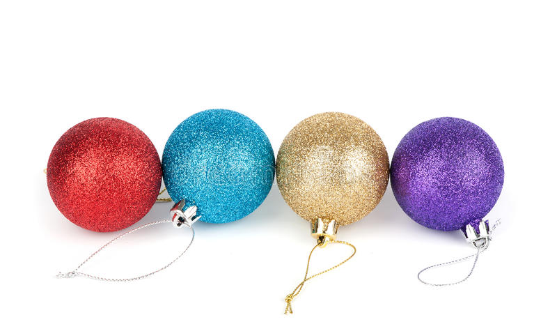 Boule de décoration de Noël image stock