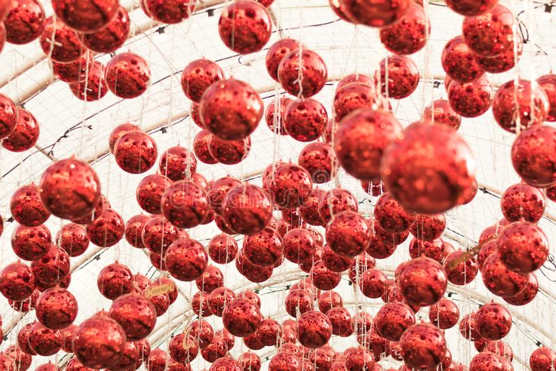 Boule de décoration pour le cerebrate photo stock