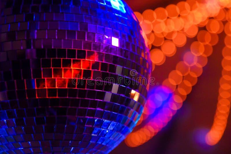Boule de disco de partie photo stock
