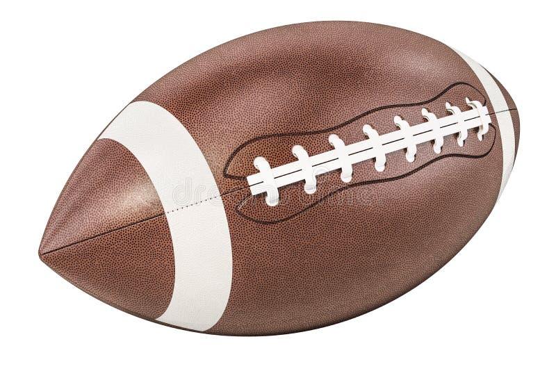 Boule de football américain, rendu 3D illustration libre de droits