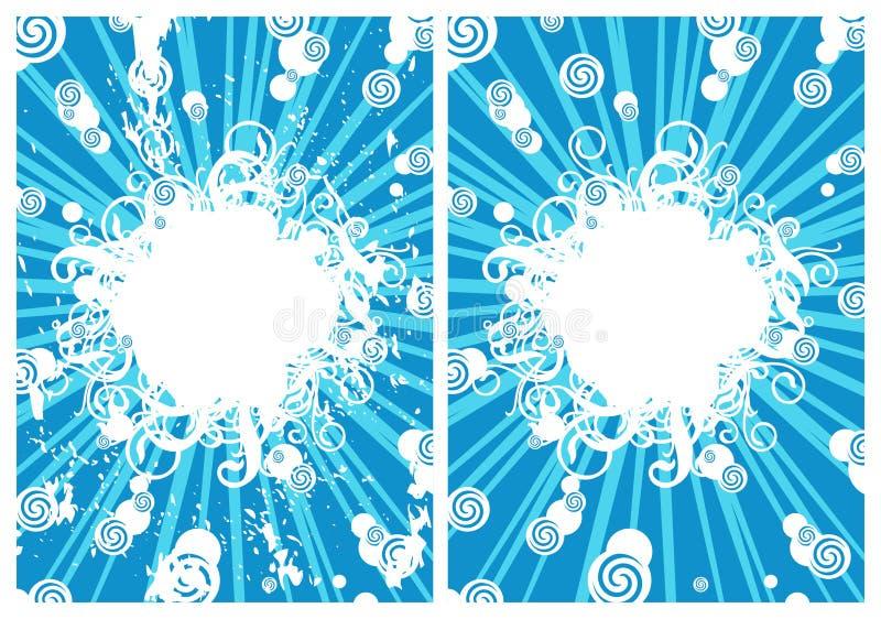 Boule de neige illustration stock