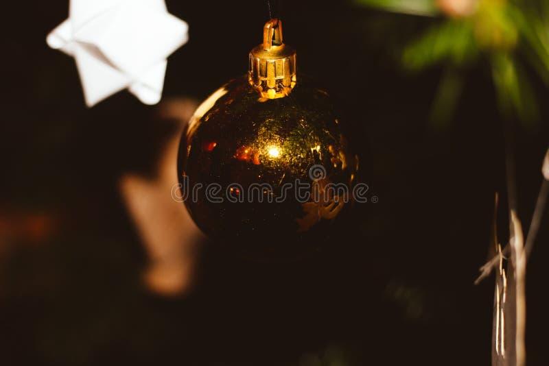 Boule de Noël photos libres de droits