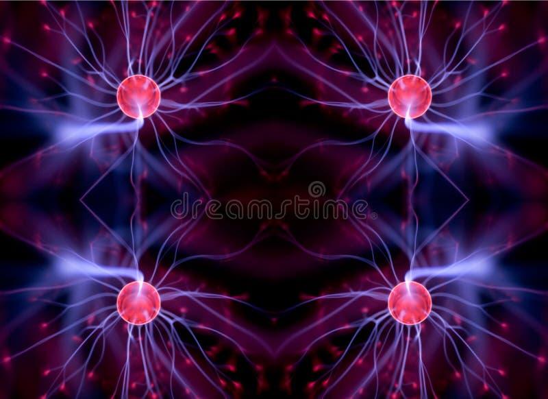 Boule de plasma illustration de vecteur