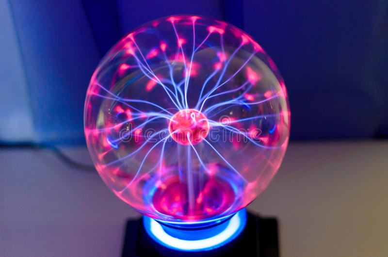 Boule de plasma images libres de droits