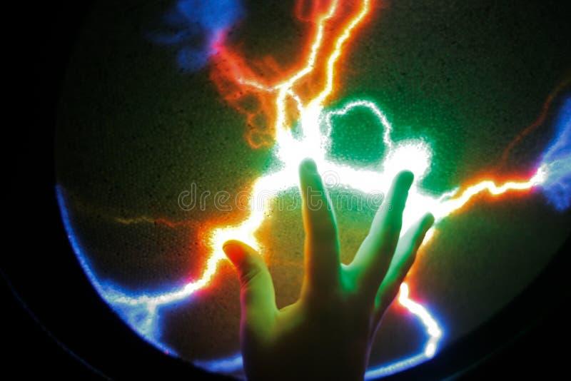 Boule de plasma photo libre de droits