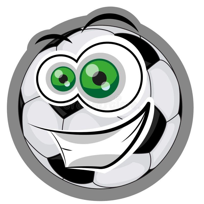Boule du football illustration stock